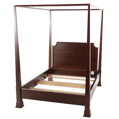 Michaels Furniture for Restoration Hardware Cherry Queen Sized Canopy Bed Frame