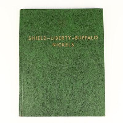 Album of Liberty Head and Buffalo Nickels