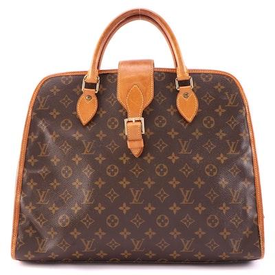 Louis Vuitton Rivoli Soft Briefcase in Monogram Canvas and Vachetta Leather
