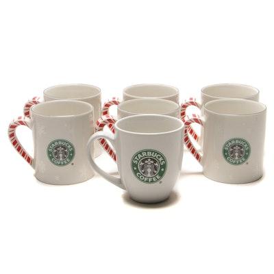 Starbucks Coffee Holiday Ceramic Mugs