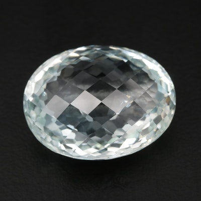 Loose 47.23 CT Oval Faceted Topaz