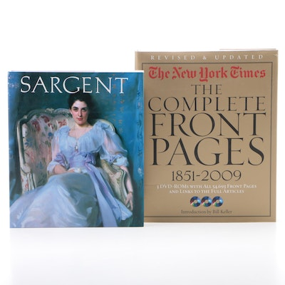 """John Singer Sargent"" by Carter Ratcliff with ""The Complete Front Pages"""