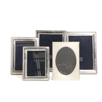 Carrs and Tiffany & Co. Sterling Silver Photograph Frames