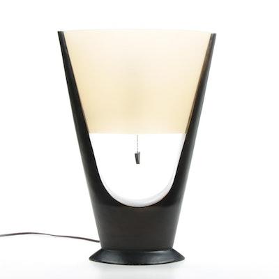 Modernist Wood Table Lamp, 21st Century