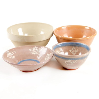 Barbados Earthworks Pottery Bowls and Other Bowls