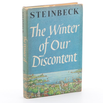 "First Book Club Edition ""The Winter of Our Discontent"" by Steinbeck with Jacket"