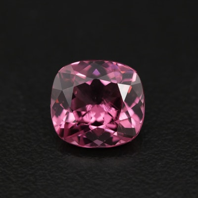 Reddish Purple Spinel Loose Gemstone