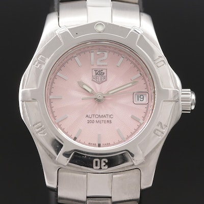 TAG Heuer 2000 Exclusive Stainless Steel Automatic Wristwatch