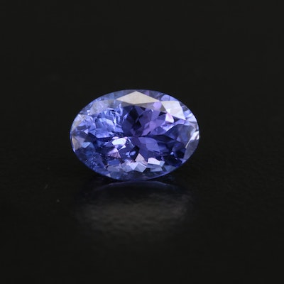 Loose 2.33 CT Oval Faceted Tanzanite