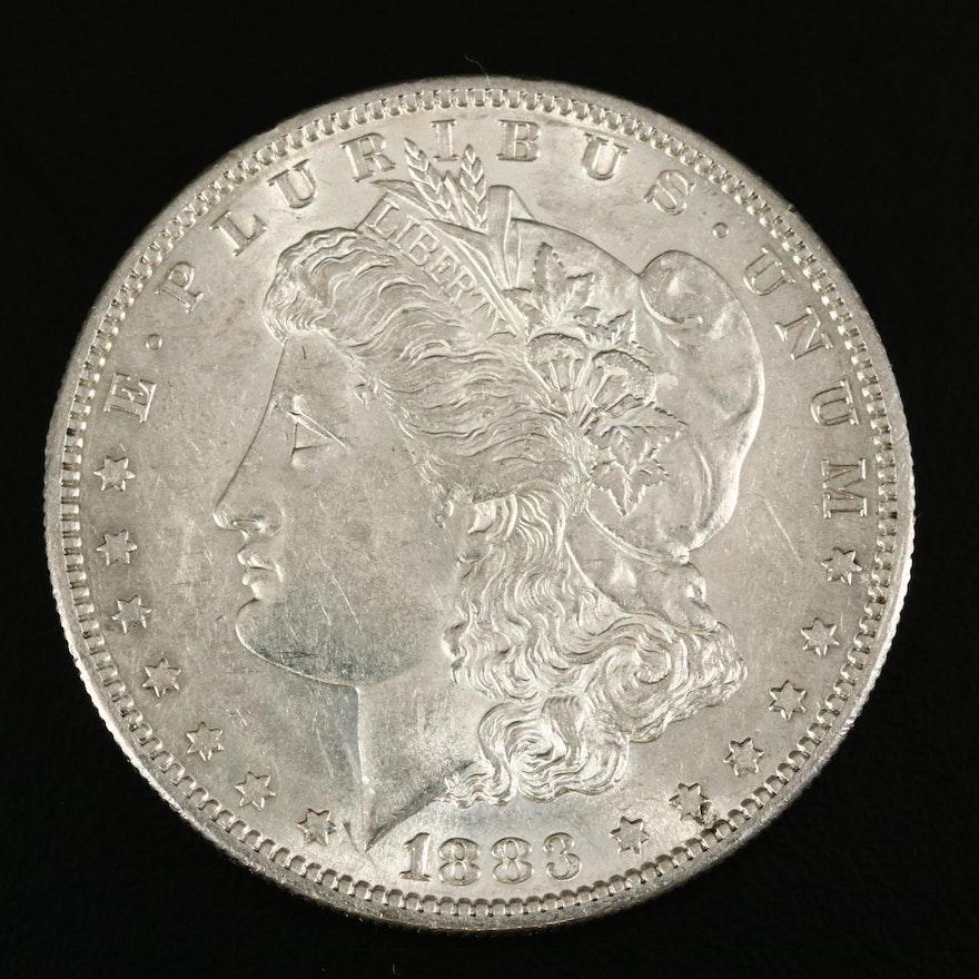 Better Date 1883-S Morgan Silver Dollar