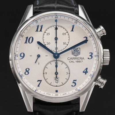 TAG Heuer Carrera Calibre 1887 Heritage Stainless Steel Automatic Wristwatch