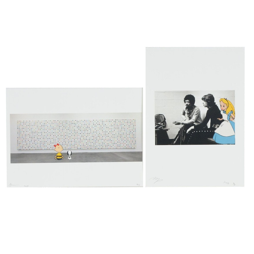 Death NYC and Missing Piece Pop Art Graphic Prints