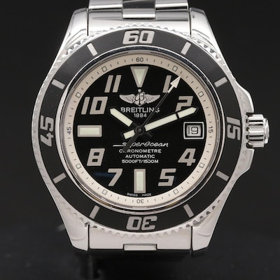 Breitling Superocean 42 Stainless Steel Automatic Wristwatch