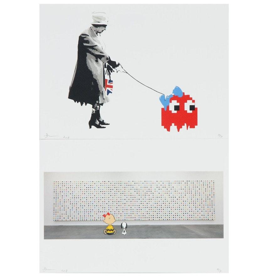 Death NYC Pop Art Graphic Prints, 2019