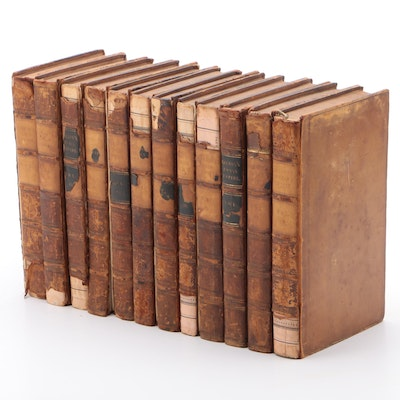 "1818 ""The History of the Decline and Fall of the Roman Empire"" Twelve Volume Set"