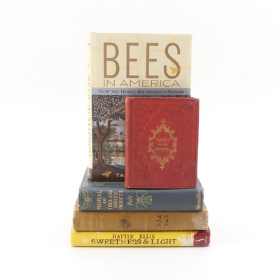 "First Edition, First Printing ""Bees in America' with More Books on Bees"