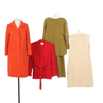 Charles Glueck, Henri Bendel, Elizabeth Arden, and More Wool Clothing, Vintage