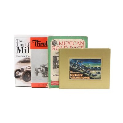 "1950 ""Book of the Mexican Road Race"" with Other Automotive Books"