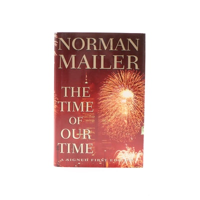 "Signed First Edition ""The Time of Our Time"" by Norman Mailer, 1998"