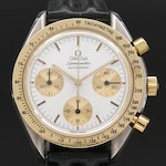 Omega Speedmaster Reduced 18K Gold and Stainless Steel Wristwatch