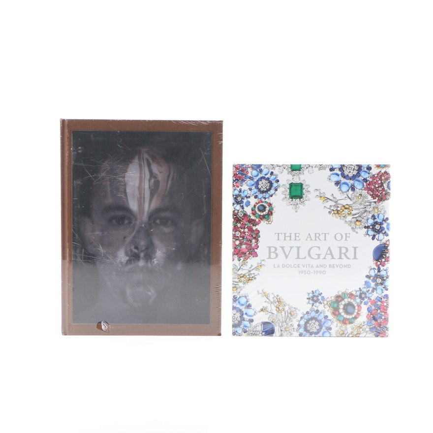 """""""Alexander McQueen: Savage Beauty"""" and """"The Art of Bulgari"""", Original Wrappers"""