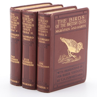 "Pocket Guide ""The Birds of the British Isles"" by T. A. Coward, Series I-III"