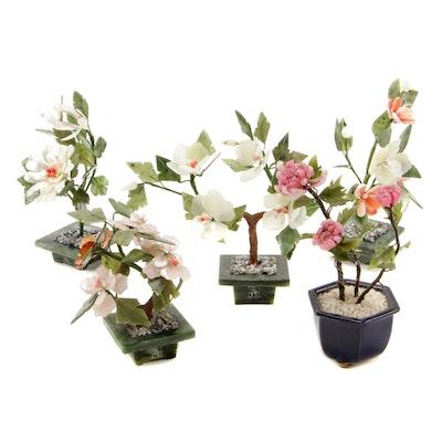 Chinese Gemstone Bonsai Trees