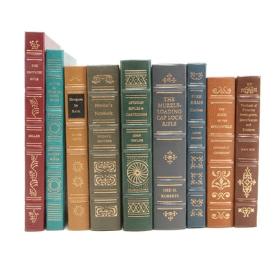 "Finely Bound ""Firearms Classic Library"" Books Including ""The Kentucky Rifle"""