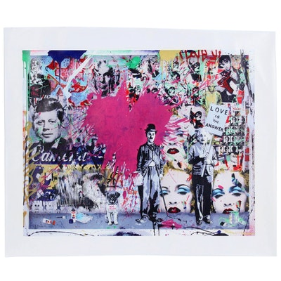 "Giclée after Banksy ""Love is the Answer"""