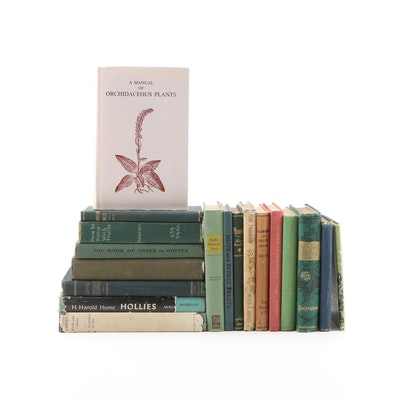"""A Manual of Orchidaceous Plants"" with More Books on Propagation and Gardening"