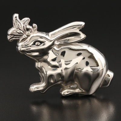 John Hardy Rabbit Tie or Scarf Clip