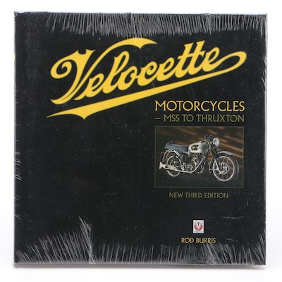 "2010 ""Velocette Motorcycles - MSS to Thruxton"" by Rod Burris"