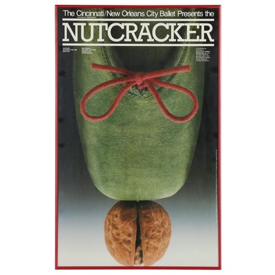 Cincinnati/ New Orleans City Ballet Nutcracker Promotional Poster, 1984