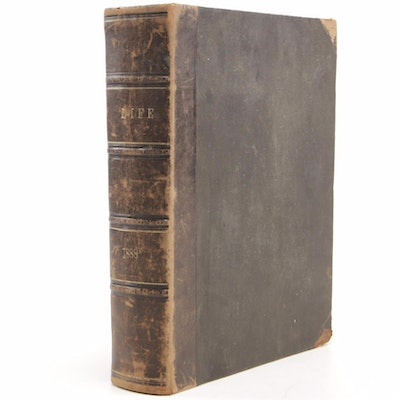 "Leather Bound ""Life"",  January 5 to December 27, 1888"
