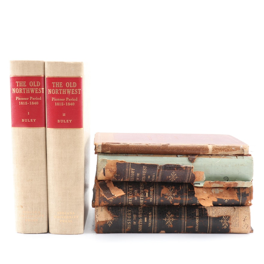 """1894 """"History of the North-west"""" by Alexander Begg with More Books on the Region"""