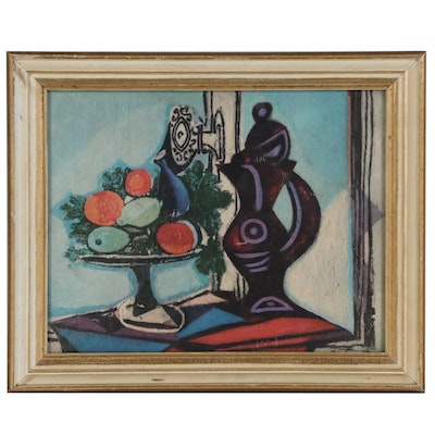 "Offset Lithograph after Pablo Picasso ""Nature Morte"""