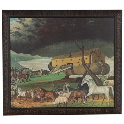 "Inkjet Print after Edward Hicks ""Noah's Ark"""