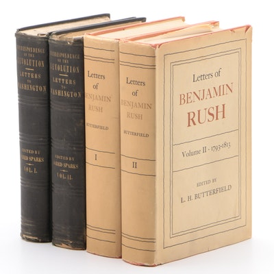 """Letters of Benjamin Rush"" and ""Letters to Washington"" Two-Volume Sets"
