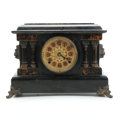 Seth Thomas Victorian Mantel Clock, Late 19th Century