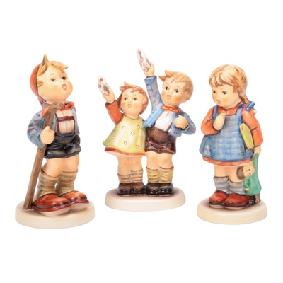 Goebel M.I. Hummel Hand-Painted Porcelain Figurines