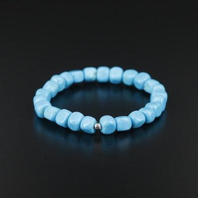 Expandable Turquoise Bracelet