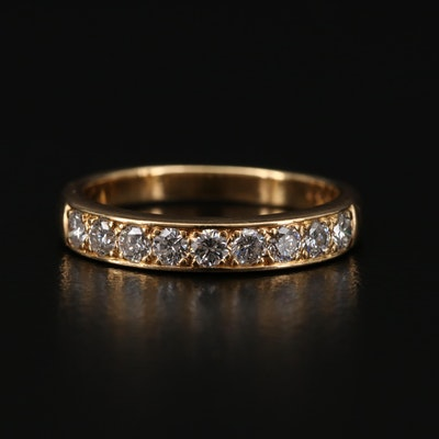 Oscar Heyman Bros. 18K Gold Diamond Ring