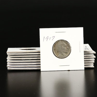 Miscellaneous Antique to Vintage U.S. Coins, Including Silver