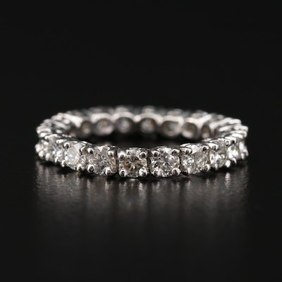 Platinum 1.70 CTW Diamond Eternity Band