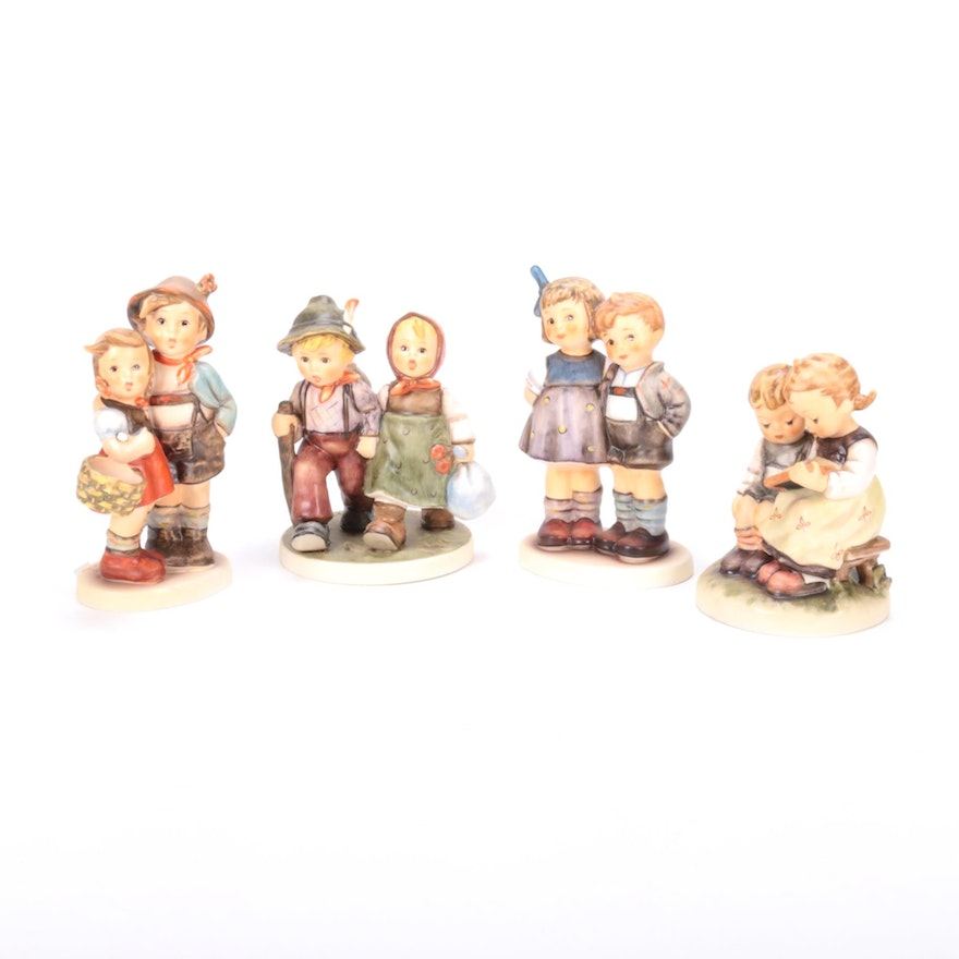Goebel Hummel Porcelain Figurines, Featuring Exclusive Club Edition