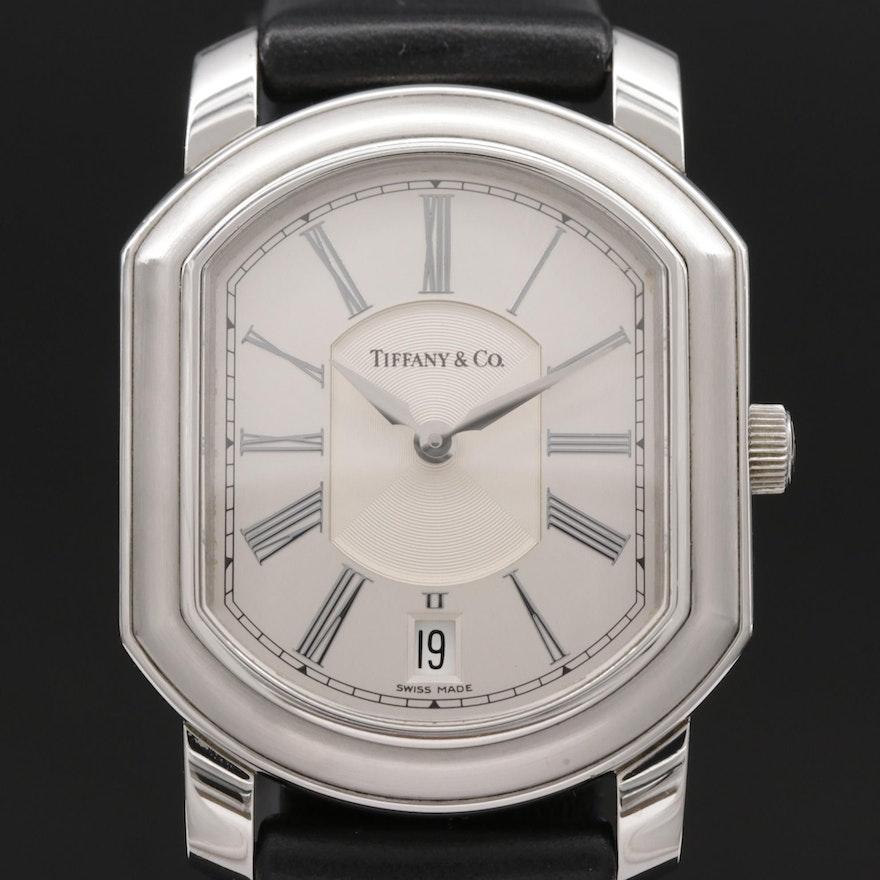 Tiffany & Co. Mark Coupe Resonator Stainless Steel Quartz Wristwatch