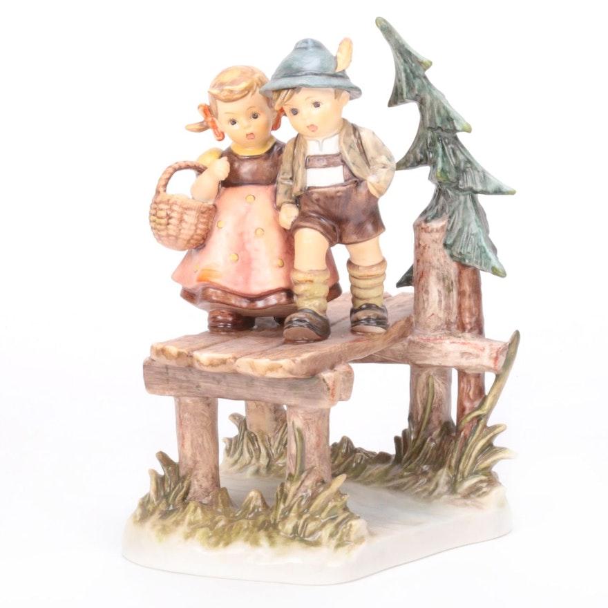 "Goebel ""On Our Way"" Century Collection Porcelain Hummel Figurine"