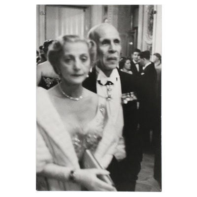 Henri Cartier-Bresson Silver Gelatin Photograph for Harper's Bazaar, 1955