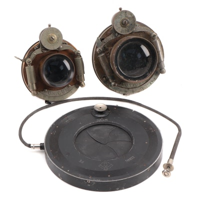 Bausch and Lomb Unicum Lenses, circa 1897