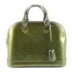 Louis Vuitton Alma PM Bag in Monogram Vernis